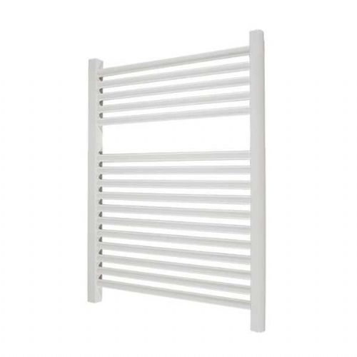 Abacus Elegance Linea Straight Towel Rail - 750mm x 480mm - White